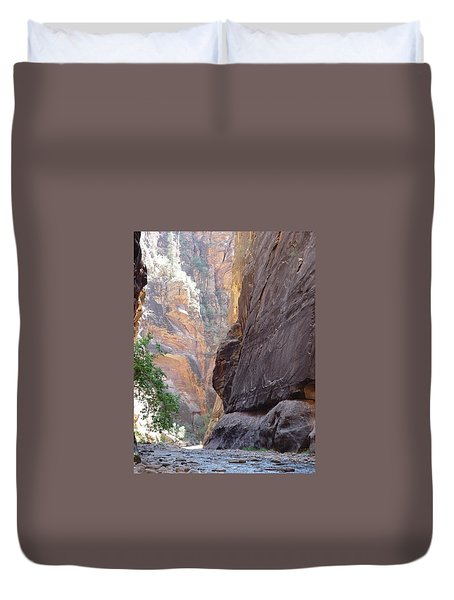 Zion Awe Duvet Cover