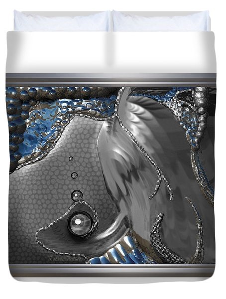 ' Fish Out Of Water ' Duvet Cover
