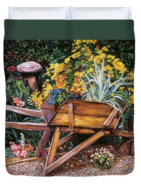 A Gardener's Helper Duvet Cover