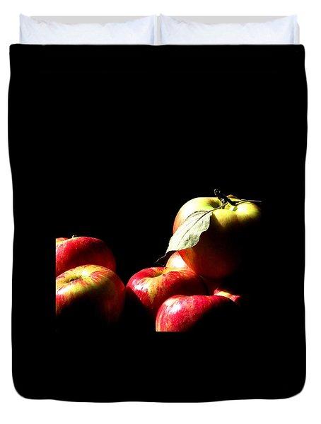 Apple Season Duvet Cover
