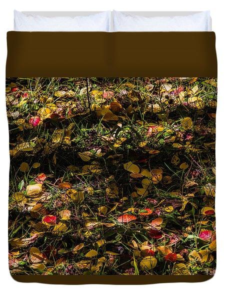 Autumn's Mosaic Duvet Cover by Alana Thrower