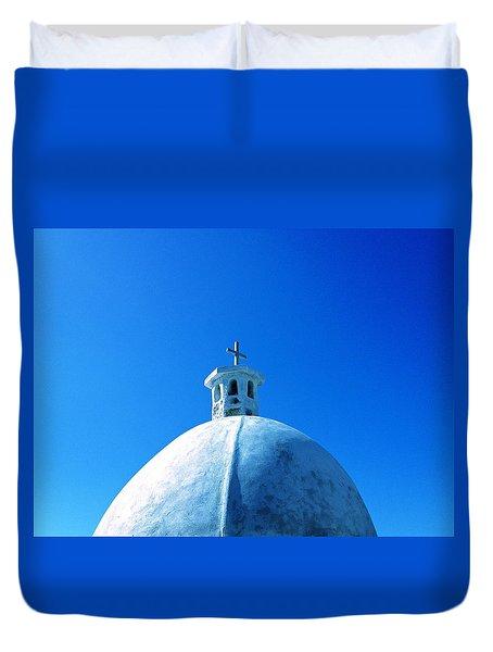 Blue Cross Duvet Cover