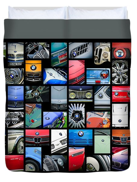 Bmw Art -01 Duvet Cover by Jill Reger