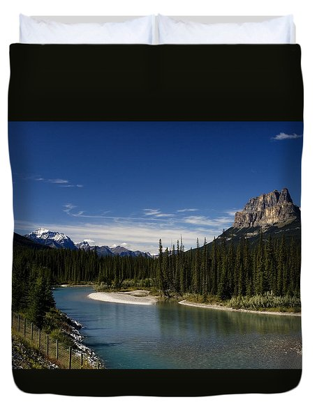 Castle Mountain 1 Duvet Cover