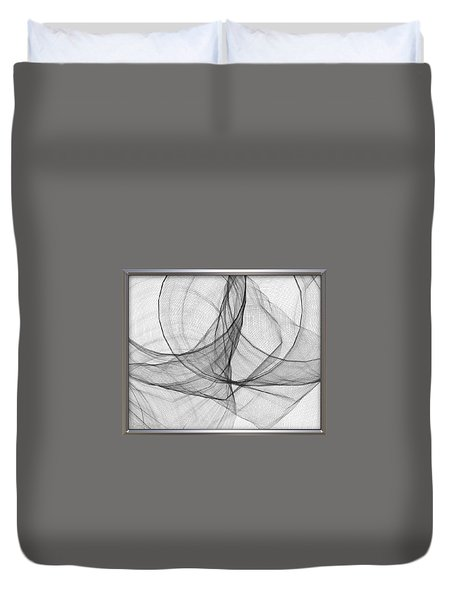 ' Caught In The Gauze Of Life ' Duvet Cover
