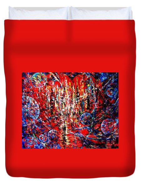 City Of Light Duvet Cover