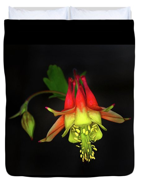 Columbine #2 Duvet Cover