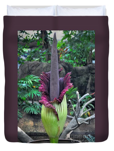 Corpse Flower Duvet Cover