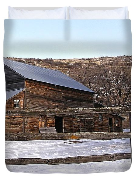 Country Barn Duvet Cover