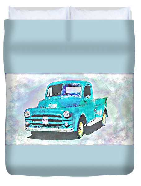 Dodge Pickup Duvet Cover