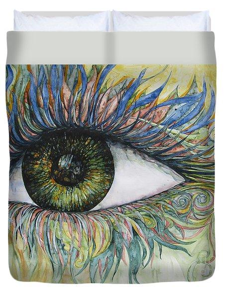Eye For Details Duvet Cover by Kim Tran
