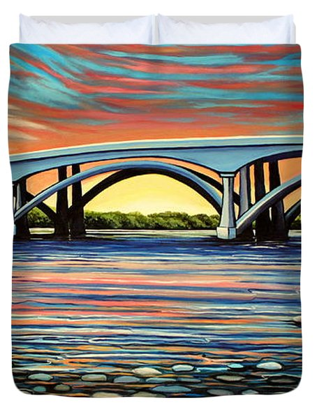 Folsom Bridge Duvet Cover