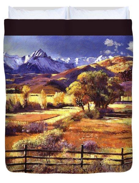 Foothills Ranch Duvet Cover