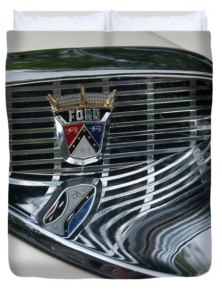 Ford Chrome 13124 Duvet Cover by Guy Whiteley
