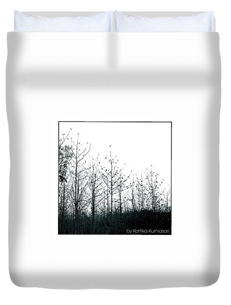 - Forest Simplicity-  Duvet Cover