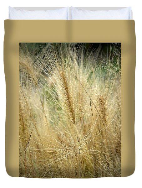 Foxtail Barley Duvet Cover