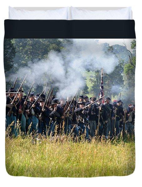 Gettysburg Union Infantry 9360c Duvet Cover