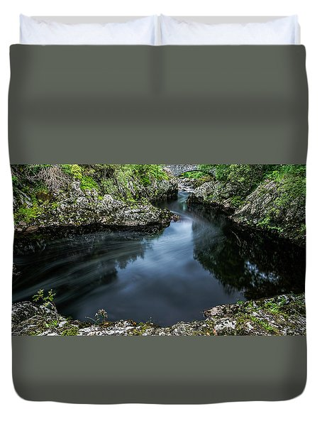 Glentrool Inky Pool New Galloway Duvet Cover