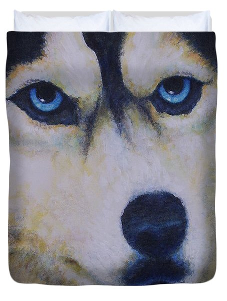 Husky For Cyrus Duvet Cover