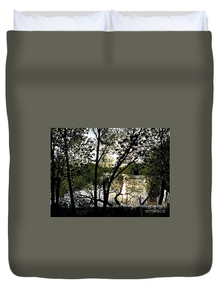 In The Shadows  - No. 430 Duvet Cover
