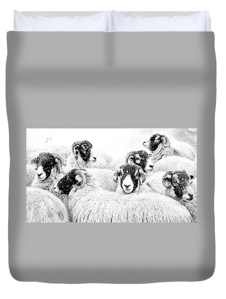 In Winters Grip Duvet Cover