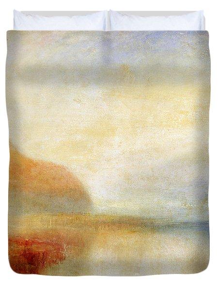 Inverary Pier - Loch Fyne - Morning Duvet Cover by Joseph Mallord William Turner