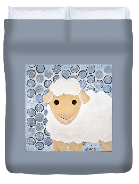 The Blessing Of The Lamb Duvet Cover