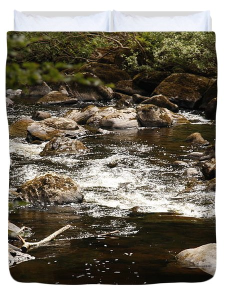 Little Stream At The Hermitage Duvet Cover by Martina Fagan