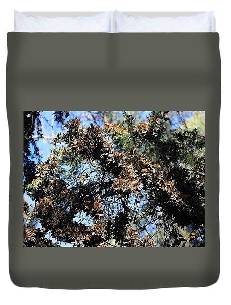 Monarch Large Cluster Duvet Cover