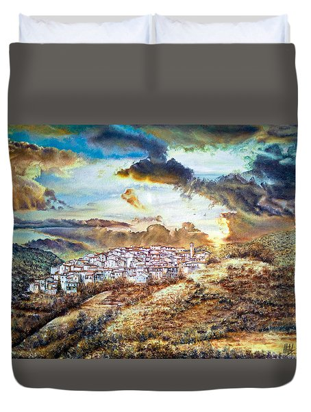 Moving Clouds Duvet Cover