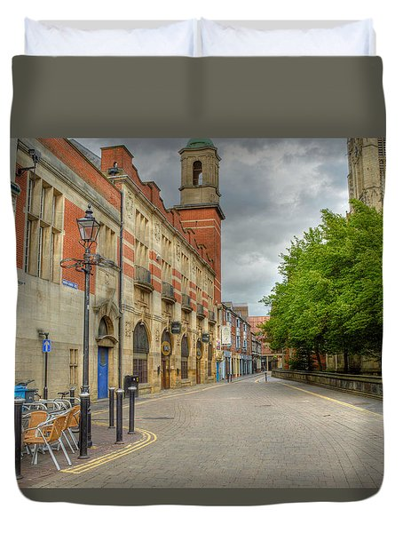 Old Town Hull Duvet Cover