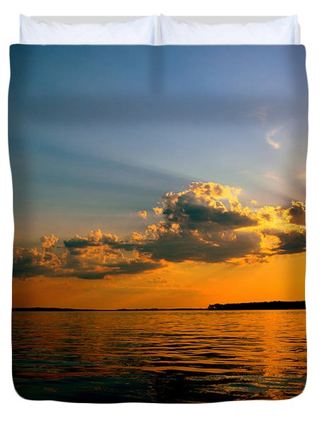 Perfect Ending To A Perfect Day Duvet Cover
