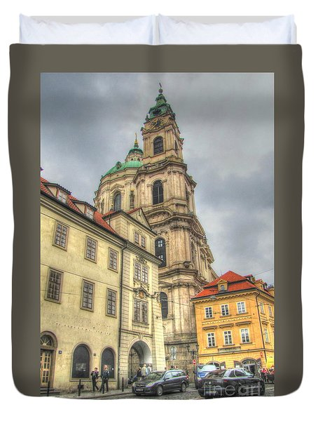 Praha Chehia Duvet Cover
