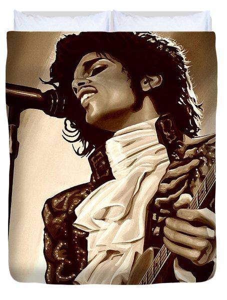 Prince The Artist Duvet Cover