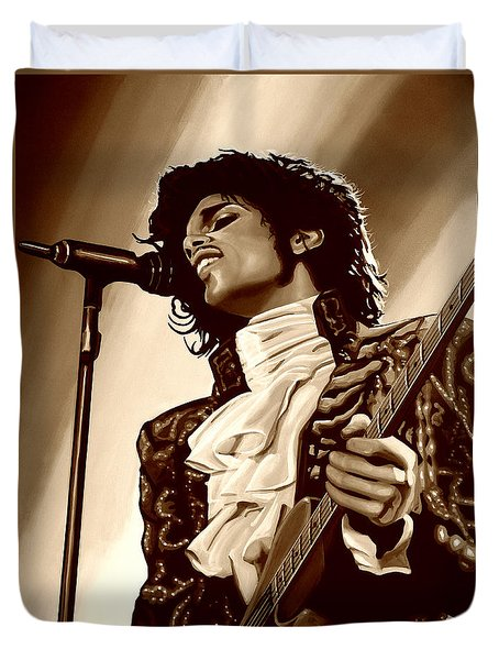Prince The Artist Duvet Cover