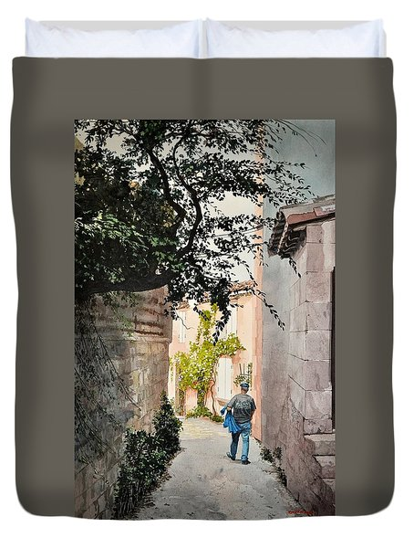 Ralph's Walkabout Duvet Cover