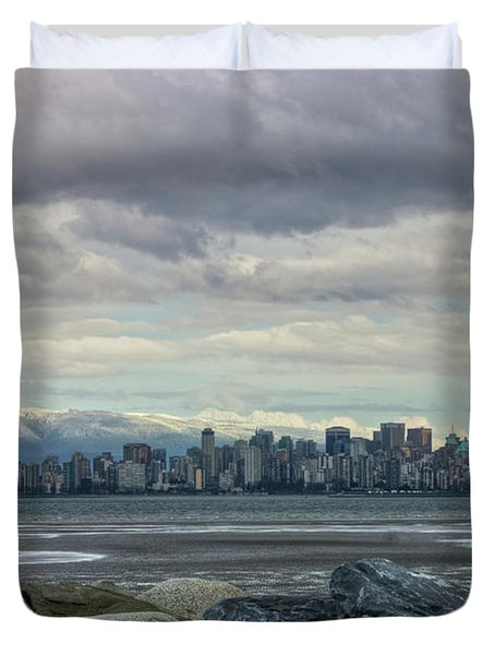 Sea To Sky II Duvet Cover