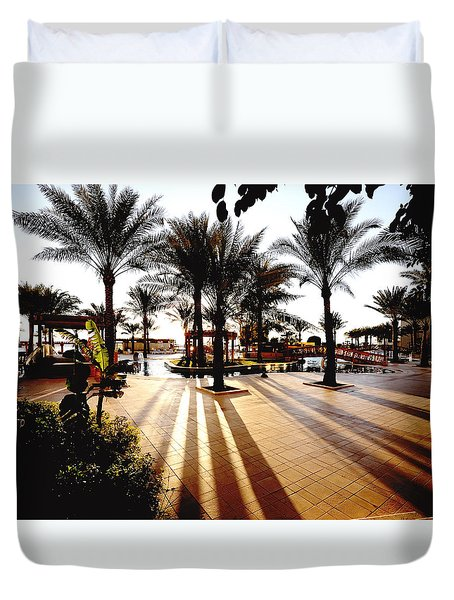 Silhouettes Duvet Cover by Marwan Khoury
