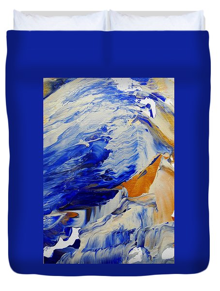Soundwaves Duvet Cover