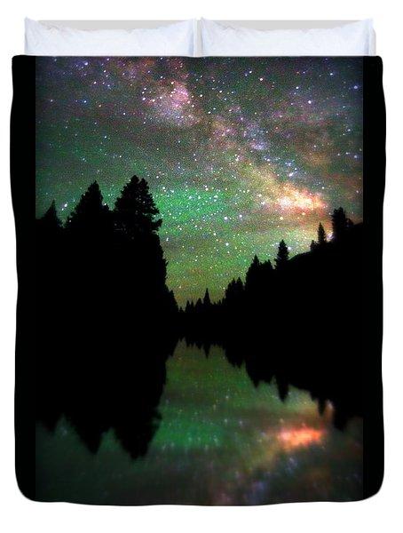 Starry Dreamscape Duvet Cover
