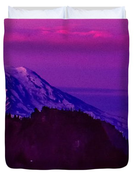 Sunrise Panorama Duvet Cover by Ansel Price