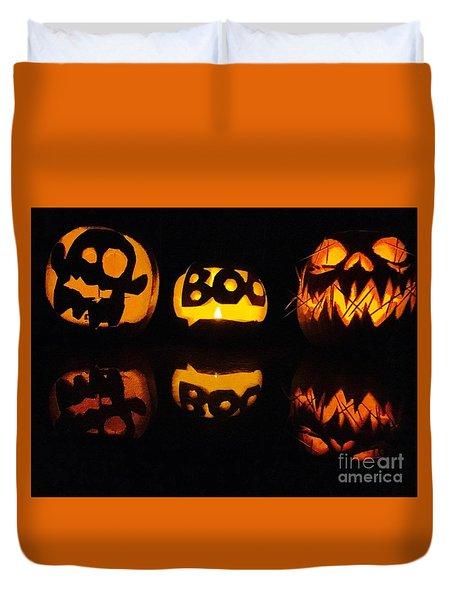 Texas Halloween - No. 2015 Duvet Cover