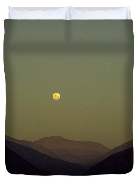 The Andes Mood Duvet Cover by Michael Mogensen