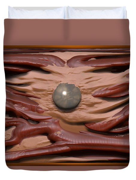 'the Magic Pearl' Duvet Cover