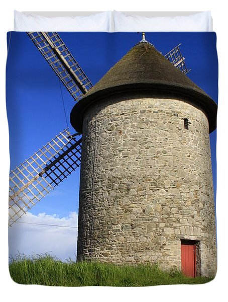 The Old Mill Duvet Cover by Martina Fagan