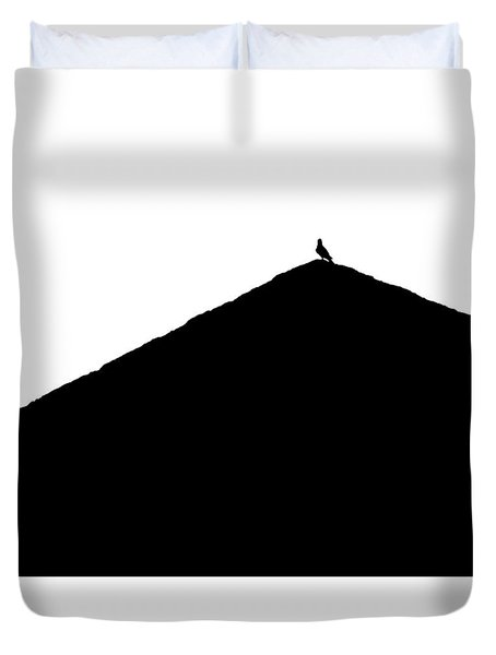 Duvet Cover featuring the photograph  Unchained  by Prakash Ghai