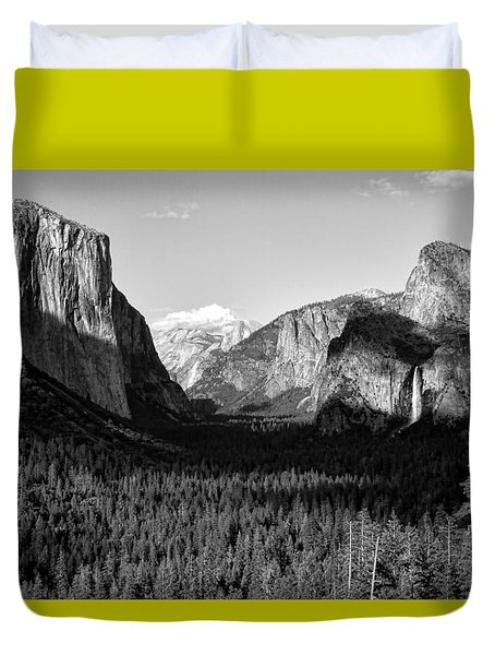 Valley Of Inspiration Duvet Cover by Jason Abando