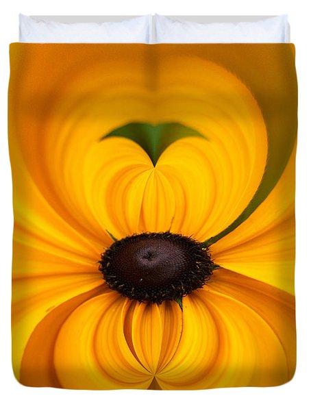 Yellow 3 Duvet Cover by Jouko Lehto