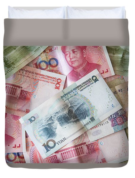 Duvet Cover featuring the photograph  Yuan by Andrey  Godyaykin