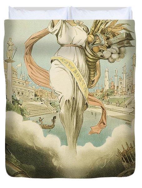 Atlanta Exposition, 1895 Duvet Cover by Granger